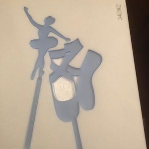 Other - Two ballerinas cake toppers